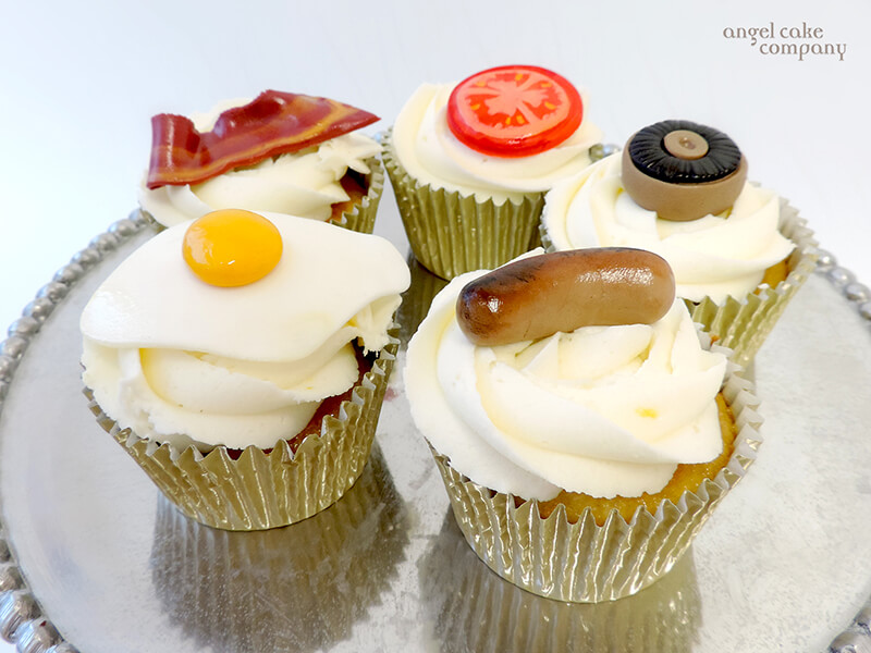 English Breakfast Cupcakes